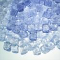 Kristal Buz Küpleri (Erimeyen, Yapay - sahte - sentetik - plastik - dekor)