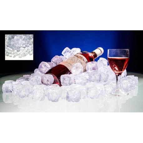 Kristal Buz Küpleri 100 lük paket (Yapay - sahte - sentetik - plastik - dekor) Armapol Plastik