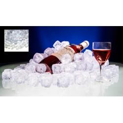 Kristal Buz Küpleri 10 luk paket (Erimez Yapay Sahte Sentetik Plastik Dekor)